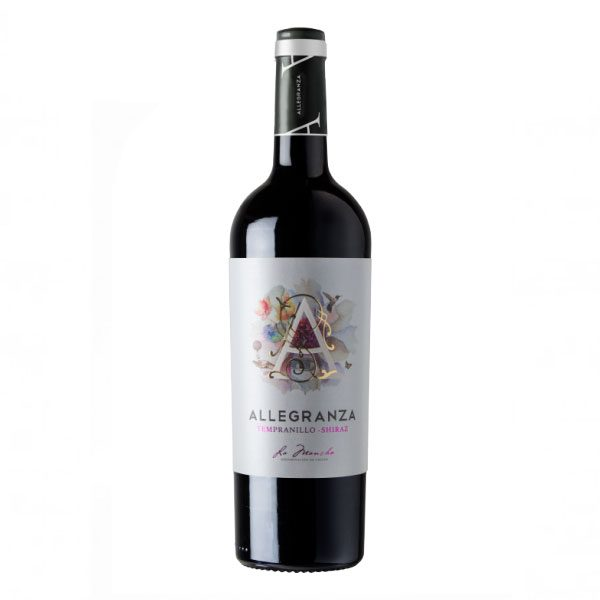 allegranza tempranillo shiraz do la mancha 1 1